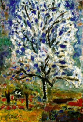 Pierre Bonnard. Almond tree in bloom