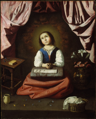 Francisco de Zurbaran. Childhood Of The Virgin Mary
