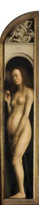 Hubert van Eyck. Gents altar. Eve (fragment)