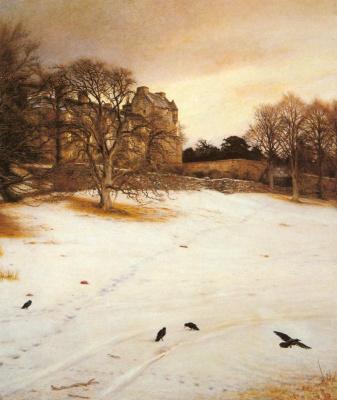 John Everett Millais. Christmas Eve
