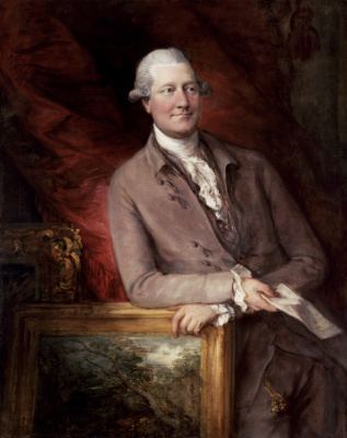 Thomas Gainsborough. Portrait Of James Christie