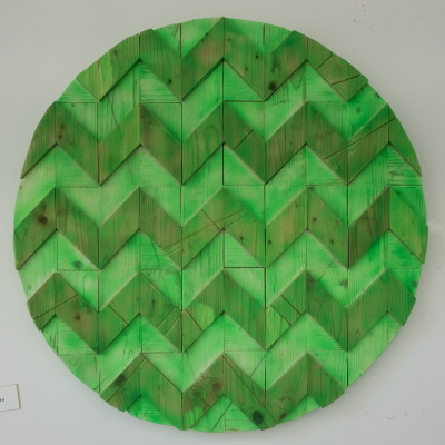 Koshtura Istvin. Object, round green