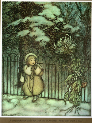 Arthur Rackham. Winter magic