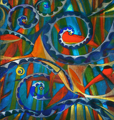 Александра Загряжская. Абстрактная композиция