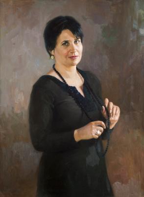 Pavel Gennadievich Dragunov. Lady in black