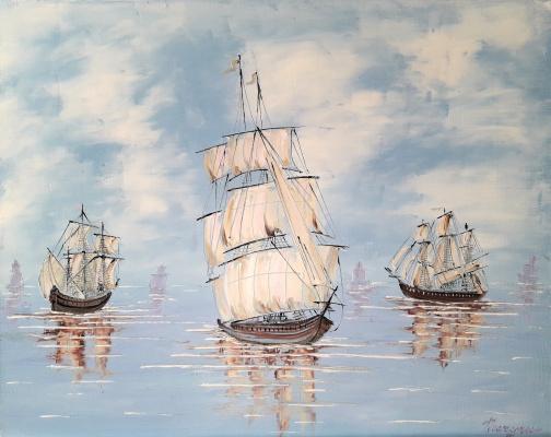 Sergey Vladislavovich Pichugin. Sea fantasy