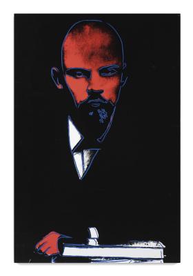 Энди Уорхол. Черный Ленин