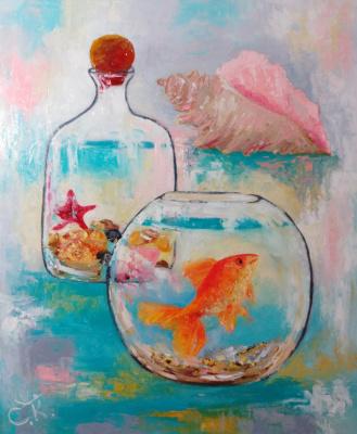Светлана Константинова. Gold fish