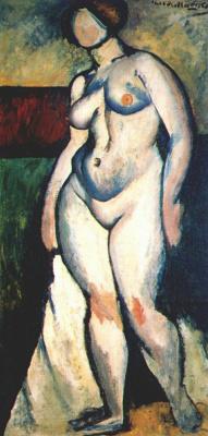 Ilya Ivanovich Mashkov. Nude