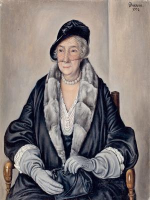 Франсуа-Эмиль Барро. Мадам Б.