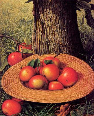 Леви Уэллс Прентис. Яблоки под деревом