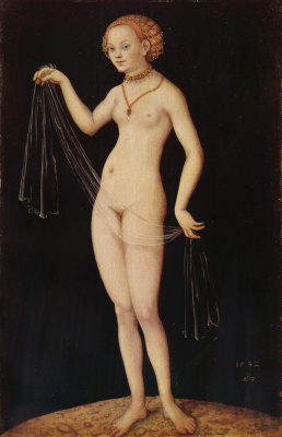 Lucas Cranes the Elder. Venus