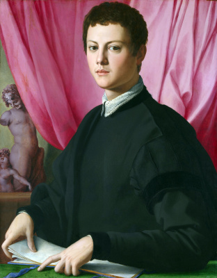 Agnolo Bronzino. Portrait of a young man