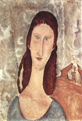 Amedeo Modigliani. Portrait Of Jeanne Hebuterne
