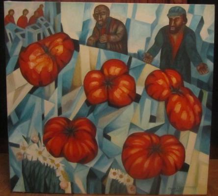 Виктор Константинович Седов. Торговцы помидорами