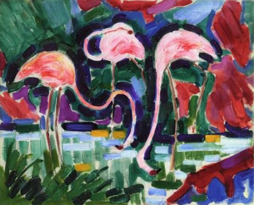 Жан Метценже. Фламинго