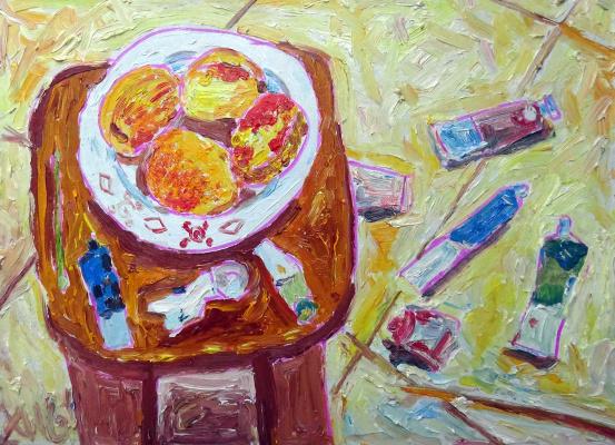 Мурад Халилов. Peaches in the Studio
