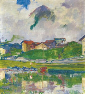 Giovanni Giacometti. Maloja, 1925