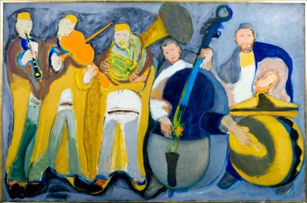 Mane-Katz (Immanuel Katr Leiserovich). Klezmery (Musicians)