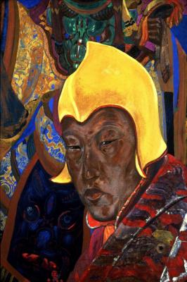 Святослав Николаевич Рерих. Портрет ламы