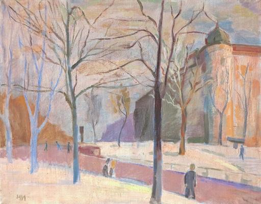 Ivan Alexandrovich Chistov. Pushkin Square