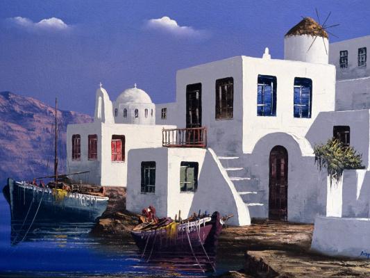 Рент Маттес. Греция
