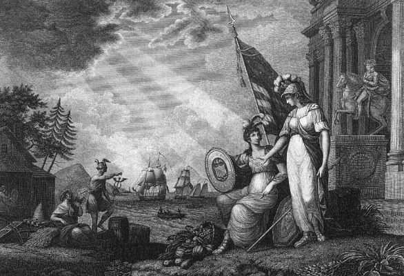 Benjamin Tanner. Flag
