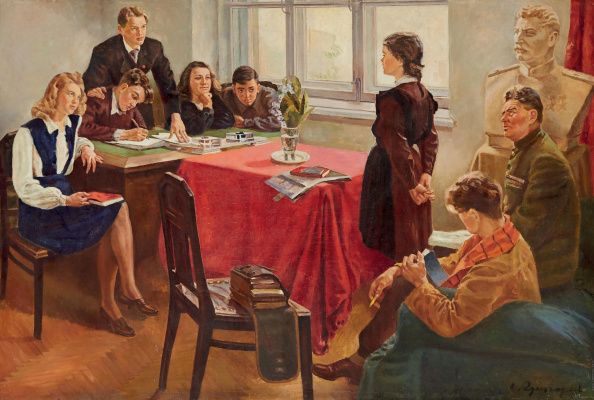 Sergey Alekseevich Grigoriev. Admission to the Komsomol