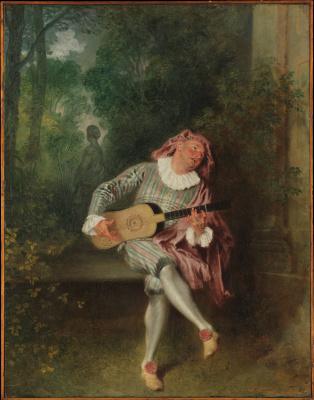 Антуан Ватто. Меццетен