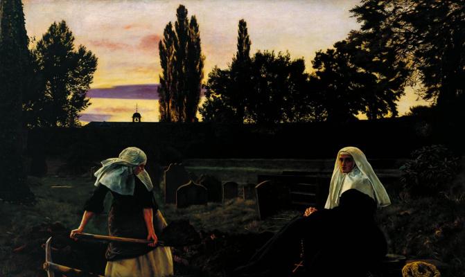 John Everett Millais. Valley of peace