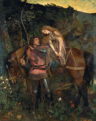 Arthur Hughes. Merciless beauty
