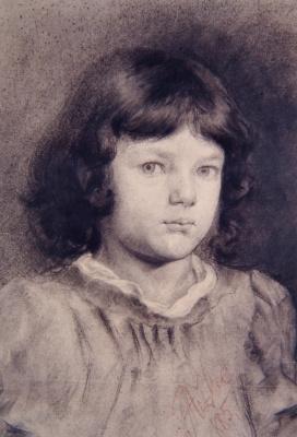 Anton Azhbe. Portrait of a girl