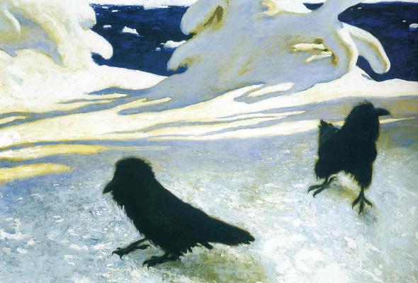 Jamie Wyeth. Ice storm