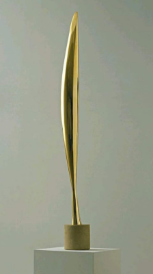 Constantine Brancusi. Bird in space.