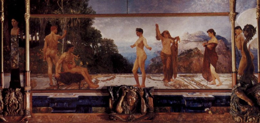 Max Klinger. The Judgment Of Paris