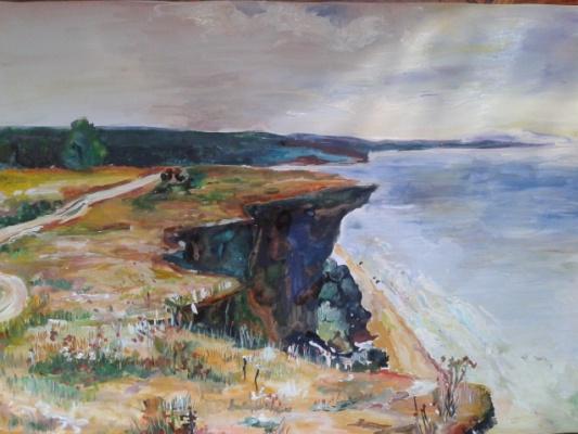 Анастасия Матусевич. Вечный обрыв у моря