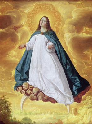 Francisco de Zurbaran. Immaculate conception