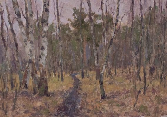 Igor Igorevich Krieger. The snow has melted early