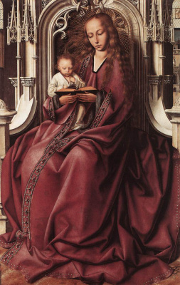 Quentin Masseys. Virgin Mary with a baby