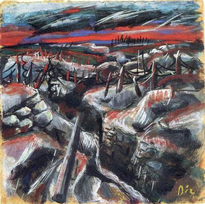 Otto Dix. Trench