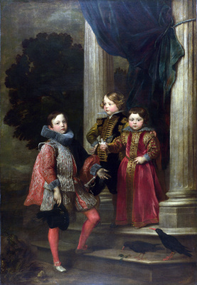 Anthony van Dyck. Children Balbi