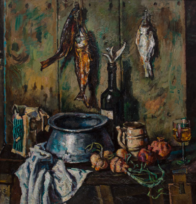 Лев Сергеевич Баяхчев. Still Life With Fish