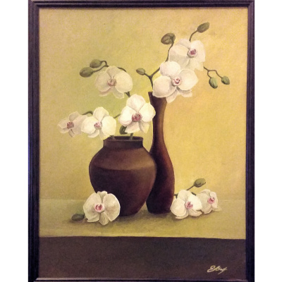 Elena Lobanova. Orchids