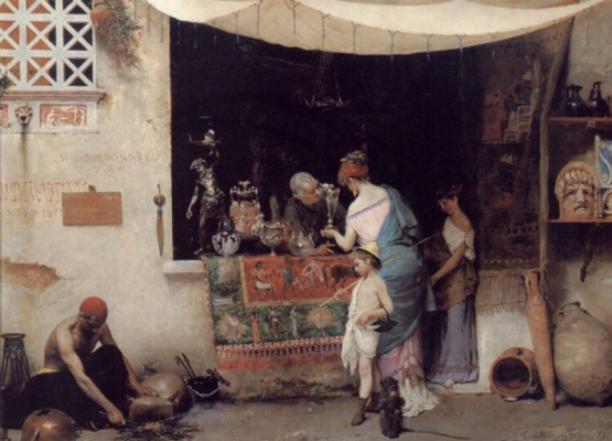 Винченцо Капобианчи. На антикварном рынке