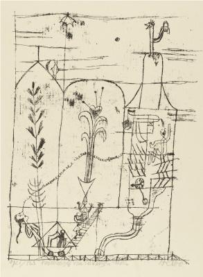 Пауль Клее. Сказка Гофмана II