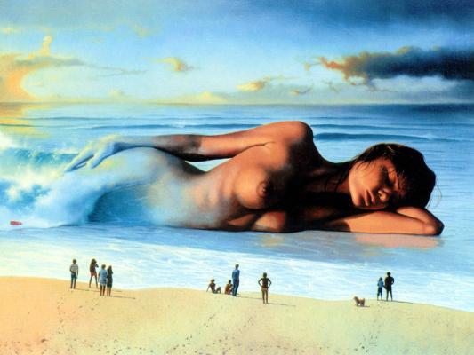Джим Уоррен. Сон на берегу океана