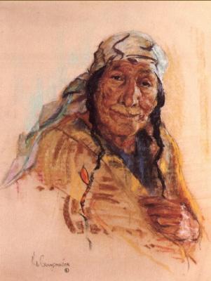 Николас де Гранмезон. Индейский портрет 63