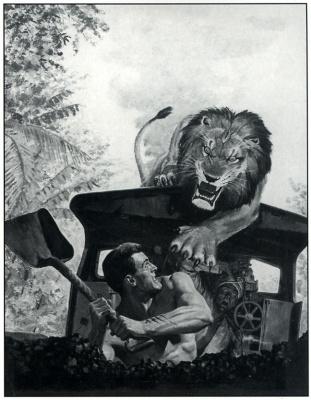 George Grosz. Lion
