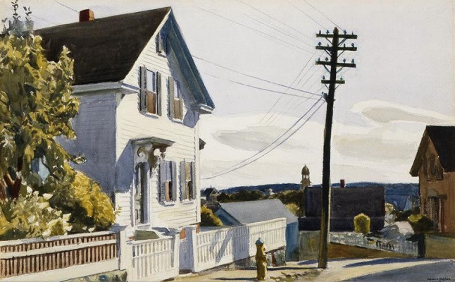 Edward Hopper. The House Of Adam