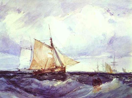 Richard Parkes Bonington. Plot 4